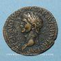 Coins Claude (41-54). As. Rome, 41-42. R/: la Liberté