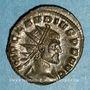 Coins Claude II le Gothique (268-270). Antoninien. Milan, 1ère officine, 269. R/: Victoire