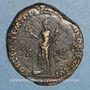 Coins Commode (177-192). Sesterce. Rome, 189. R/: la Fortune