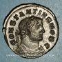 Coins Constance I Chore, césar (293-305). Follis. Londres, vers 303. R/: Génie