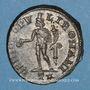 Coins Constance I Chore, césar (293-305). Follis. Rome, 3e officine, 299-300. R/: Génie