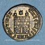 Coins Constance II, césar (324-337). Centénionalis. Héraclée, 1ère officine, 326. R/: porte de camp