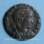 Coins Constant (337-350). Centenionalis. Rome, 1ère officine, 337-340. R/: La Sécurité