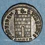 Coins Constantin I (307-337). Centenionalis. Alexandrie, 2e officine, 325-326. R/: porte de camp