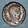 Coins Constantin I (307-337). Centenionalis posthume. Héraclée, 1ère officine, 342-348. R/: Constantin