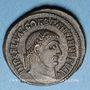 Coins Constantin I (307-337). Follis. Alexandrie, 1ère officine, 315-316. R/: Jupiter