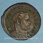 Coins Constantin I (307-337). Follis. Londres, 1ère officine, 307-310. R/: autel