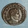 Coins Constantin I (307-337). Follis. Londres, 1ère officine. 313-314. R/: le Soleil
