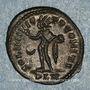 Coins Constantin I (307-337). Follis. Londres. 1ère officine, 318. R/: Génie