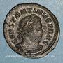 Coins Constantin I (307-337). Follis. Londres, 316. R/: le Soleil