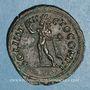 Coins Constantin I (307-337). Follis. Rome, 4e officine. 316-317. R/: le Soleil