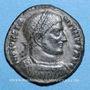Coins Constantin I (307-337). Follis. Thessalonique, 4e officine, 318-319. R/: VOT.XX. / MVLT / XXX