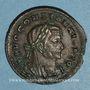 Coins Constantin I (307-337). Follis. Trèves, 1ère officine, 307-310. R/: autel