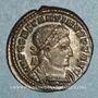 Coins Constantin I (307-337). Follis. Trèves, 1ère officine. 310-313. R/: le Soleil