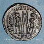 Coins Constantin II, césar (317-337). Centenionalis. Lyon, 1ère officine. 330-331. R/: deux soldats