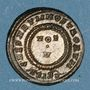 Coins Constantin II, césar (317-337). Centénionalis. Siscia, 3e officine. 320-321. R/: VOT / V