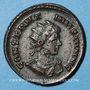 Coins Constantin II, césar (317-337). Follis. Londres, 1ère officine, 322-323. R/: autel