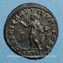 Coins Constantin II, césar (317-337). Follis réduit. Trèves. 1ère officine, 317. R/: le Soleil