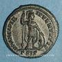 Coins Crispe, césar (317-326). Follis. Siscia. 3e officine, 317. R/: Mars