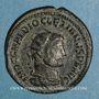 Coins Dioclétien (284-305). Antoninien. Antioche. 4e officine, 293. R/: Jupiter et Hercule