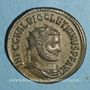 Coins Dioclétien (284-305). Antoninien. Antioche. 7e officine, 293. R/: Jupiter et Hercule