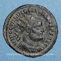 Coins Dioclétien (284-305). Antoninien. Cyzique. 3e officine, 295-299