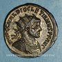 Coins Dioclétien (284-305). Antoninien. Ticinum, 6e officine, 285-286. R/: Jupiter
