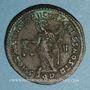 Coins Dioclétien (284-305). Follis. Aquiléa, 1ère officine. 301. R/: la Monnaie