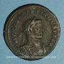 Coins Dioclétien (284-305). Follis. Londres, 298-300. R/: Génie