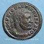 Coins Dioclétien (284-305). Follis. Trèves, 1ère officine, 303-305. R/: Génie