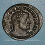 Coins Dioclétien (284-305). Follis. Trèves, 2e officine, 302-303. R/: Génie