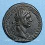 Coins Domitien (81-96). As. Rome, 86. R/: la Valeur