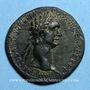 Coins Domitien (81-96). Sesterce. Rome, 95-96. R/: Jupiter