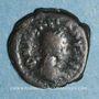 Coins Empire romain d'Orient. Marcien (450-457). 1/2 centénionalis. Constantinople. R/: monogramme