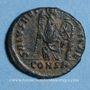 Coins Eudoxia, épouse d'Arcadius. Centenionalis. Constantinople, 1ère officine, 402-404. R/: Victoire