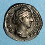Coins Faustine mère, épouse d'Antonin le Pieux († 141). Denier. Rome, après 147. R/: Cérès