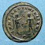 Coins Florien (276). Antoninien. Cyzique, 1e officine. R/: Victoire