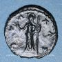 Coins Frappes barbares (vers 270-275). Antoninien. Buste radié de Tétricus I. R/: la Paix