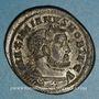 Coins Galère Maximien, césar (293-305). Follis. Trèves, 1ère officine, 303-305. R/: Génie