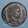 Coins Galéria Valéria, 2e épouse de Galère. Follis. Alexandrie, 2e officine. 308. R/: Vénus
