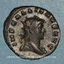 Coins Gallien (253-268). Antoninien. Milan, 1ère officine. 265-266. R/: Esculape
