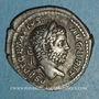 Coins Géta (209-212). Denier. Rome, 211. R/: la Libéralité