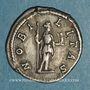 Coins Géta, césar sous Septime Sévère et Caracalla (198-209). Denier. Rome, 199. R/: la Noblesse debout