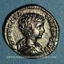 Coins Géta, césar sous Septime Sévère et Caracalla (198-209). Denier. Rome, 202. R/: la Sécurité