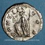 Coins Géta, césar sous Septime Sévère et Caracalla (198-209). Denier. Rome, 207. R/: Pallas