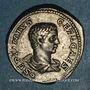 Coins Géta, césar sous Septime Sévère et Caracalla (198-209). Denier. Rome, 208. R/: Génie