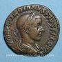 Coins Gordien III le Pieux (238-244). Sesterce. Rome, 241-243. R/: la Joie