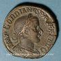 Coins Gordien III le Pieux (238-244). Sesterce. Rome, 242-243. R/: Apollon