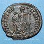 Coins Gratien (367-383). Centénionalis. Antioche, 1ère officine, 378-383. R/: Rome