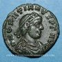 Coins Gratien (367-383). Centénionalis. Siscia, 4e officine, 367-375. R/: l'empereur